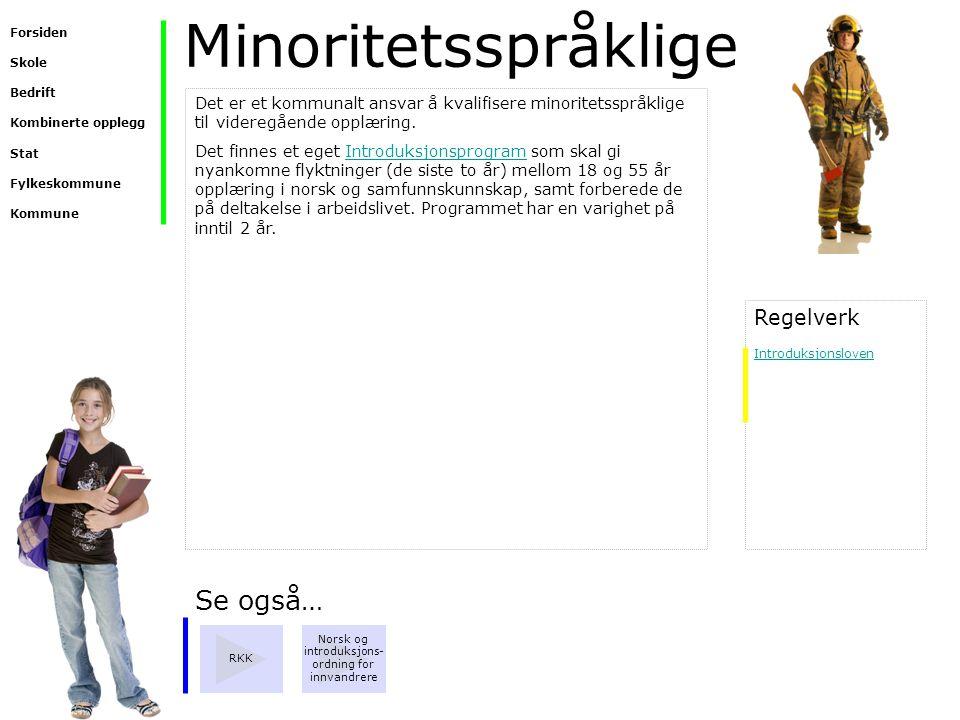 Norsk og introduksjons-ordning for innvandrere