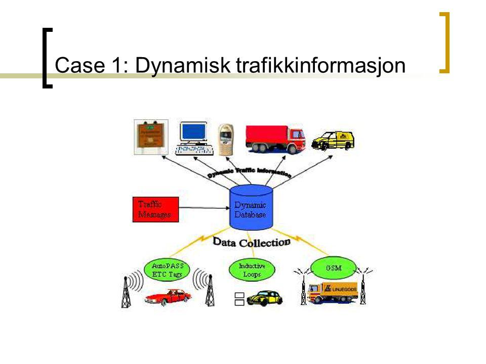 Case 1: Dynamisk trafikkinformasjon