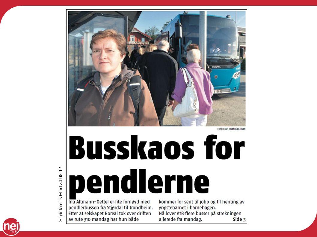 Stjørdalens Blad 24.08.13