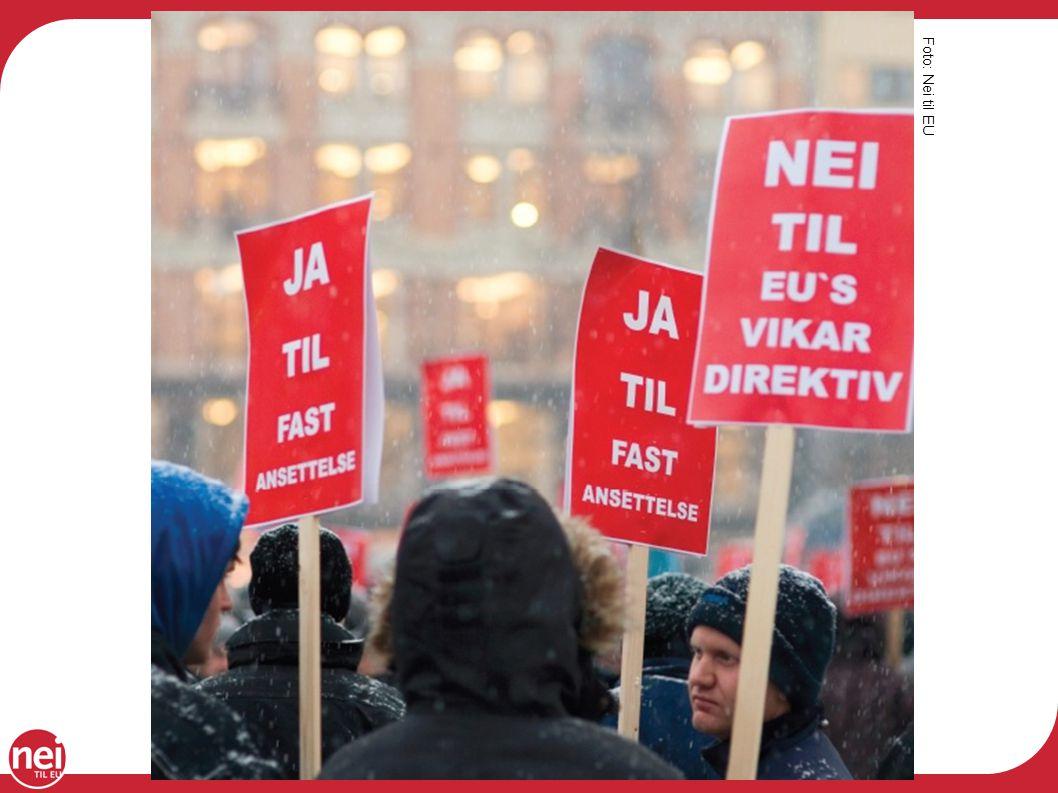 Foto: Nei til EU