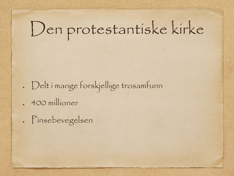 protestantisk kristendom dinside