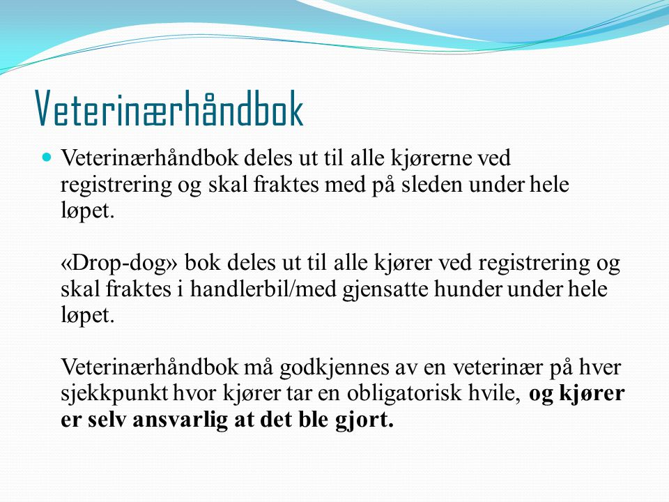 Veterinærhåndbok