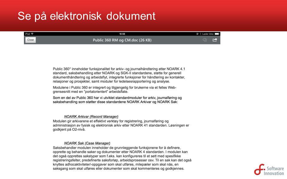 Se på elektronisk dokument