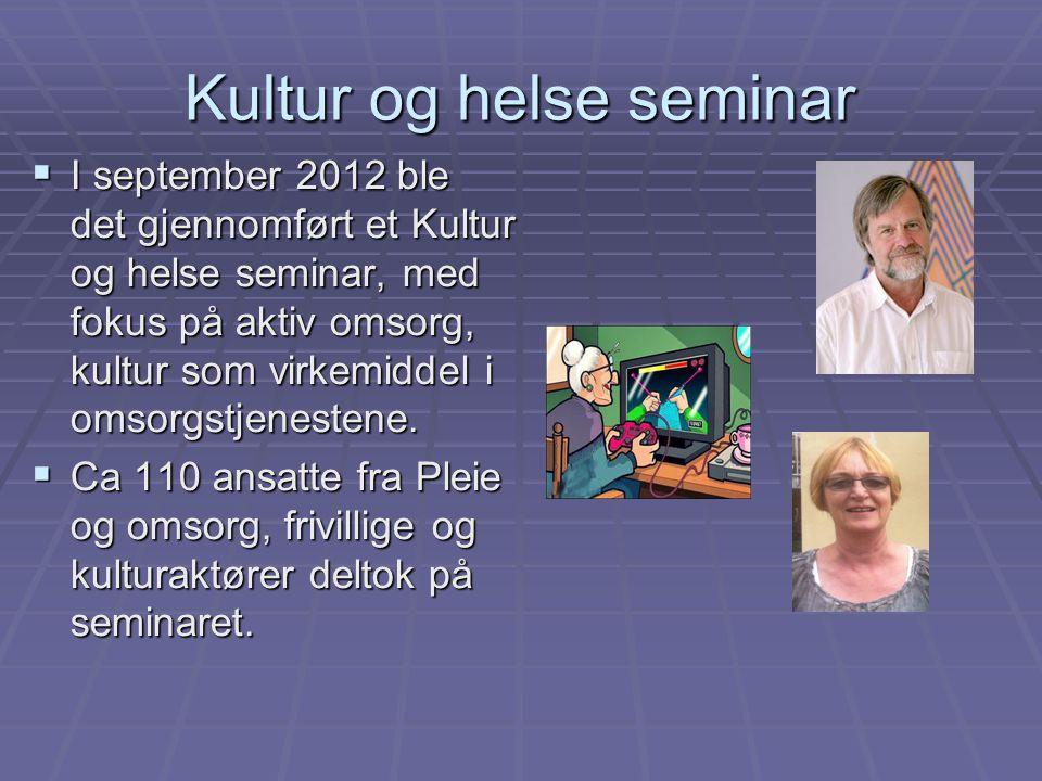 Kultur og helse seminar