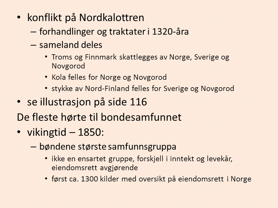 konflikt på Nordkalottren