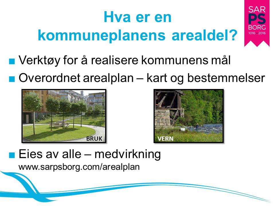 Hva er en kommuneplanens arealdel