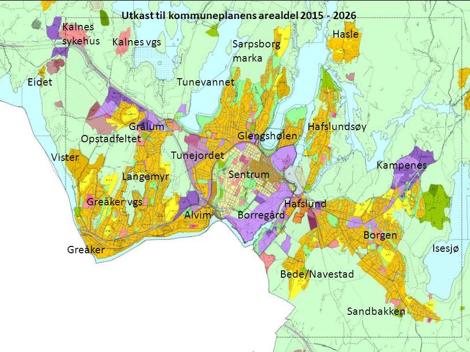 Utkast til kommuneplanens arealdel 2015 - 2026