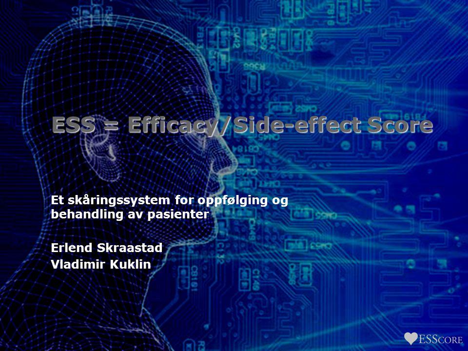 ESS = Efficacy/Side-effect Score