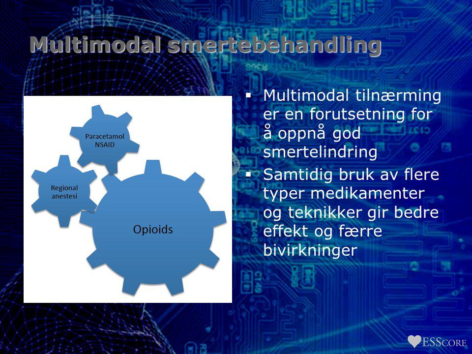 Multimodal smertebehandling