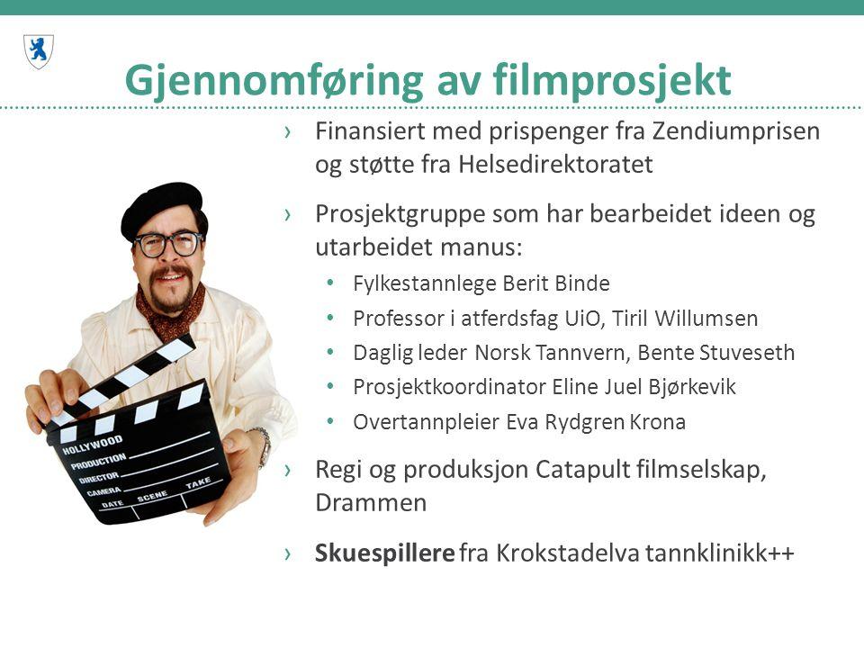 Gjennomføring av filmprosjekt