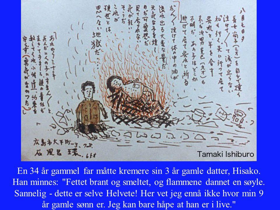 En 34 år gammel far måtte kremere sin 3 år gamle datter, Hisako