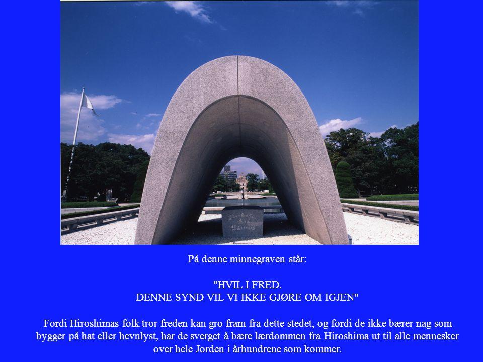 På denne minnegraven står: HVIL I FRED.