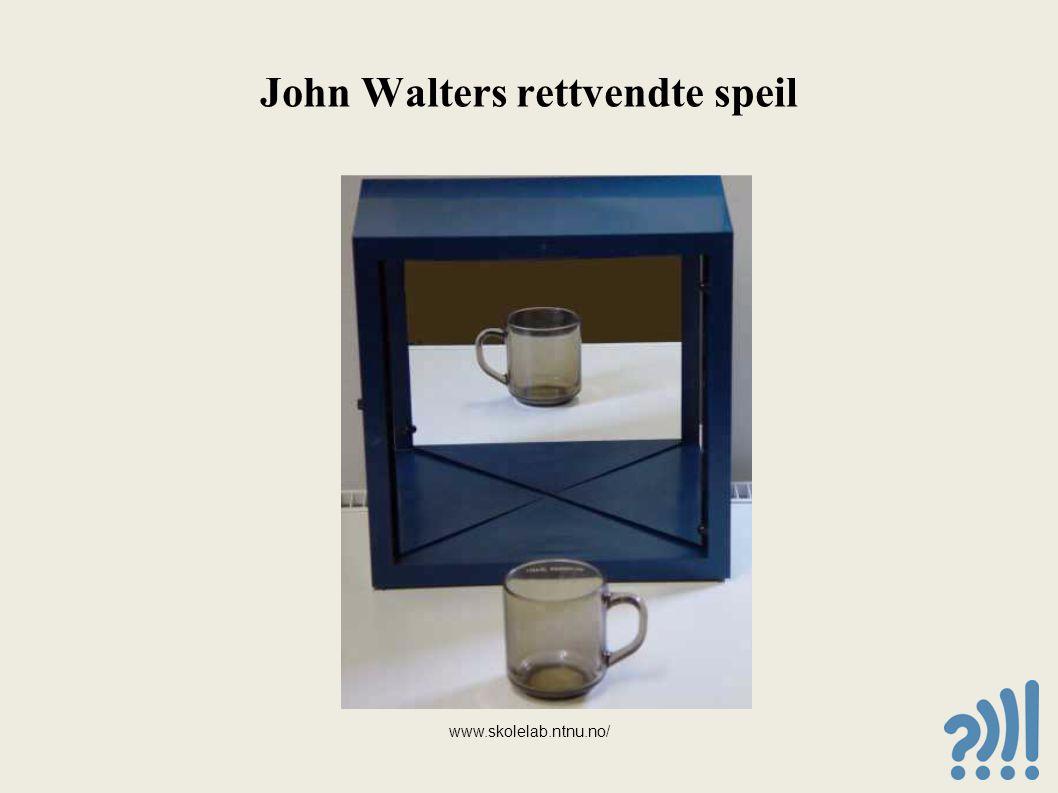 John Walters rettvendte speil