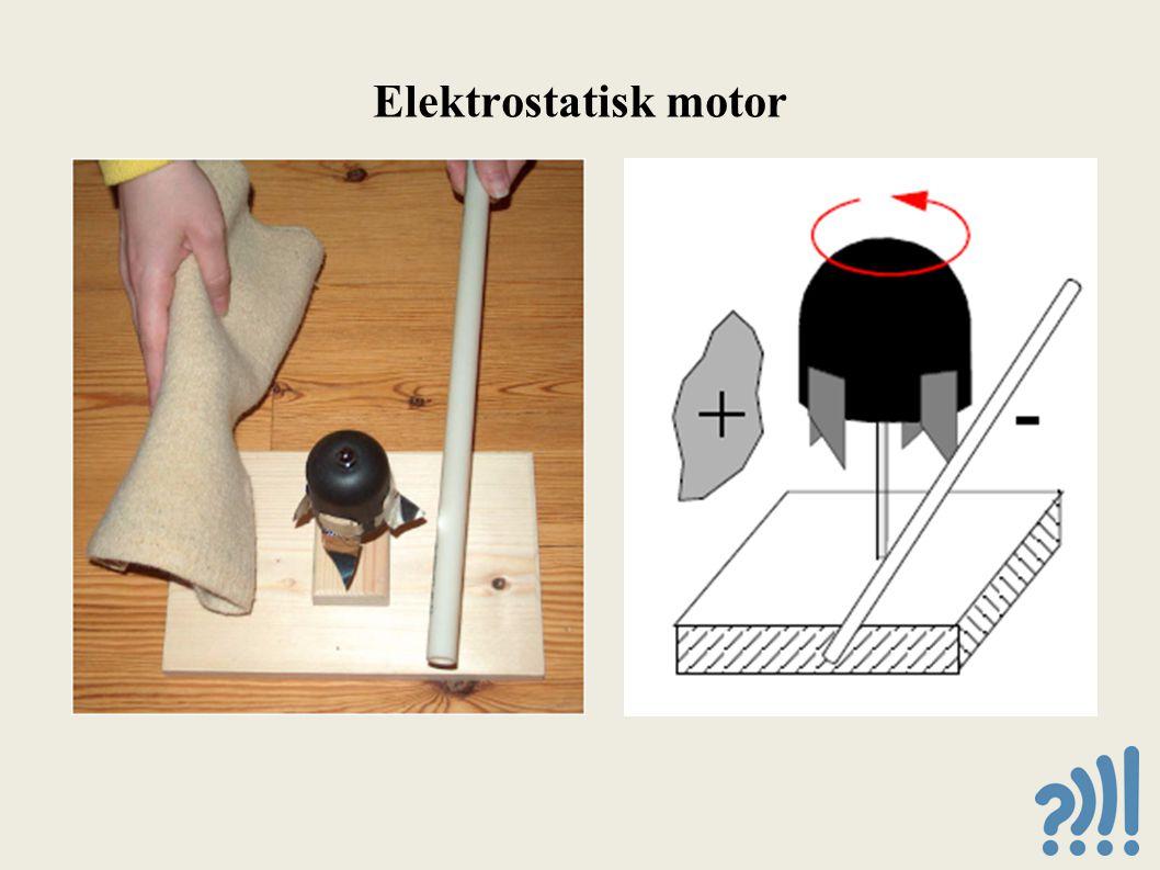 Elektrostatisk motor