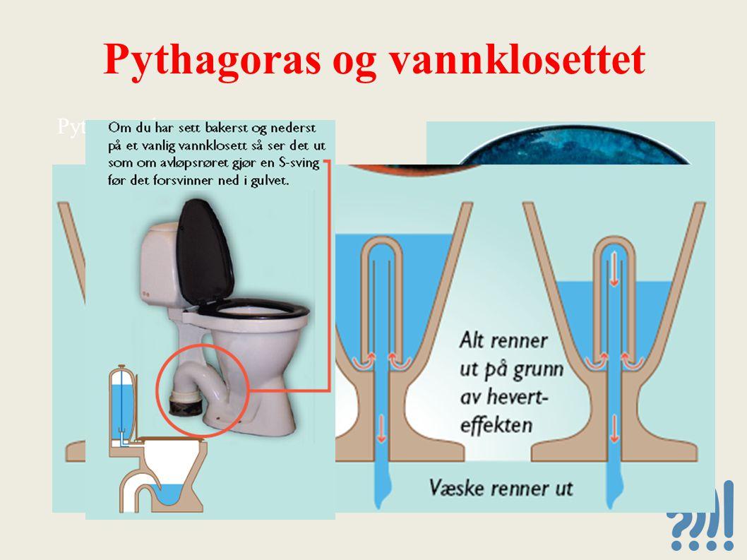 Pythagoras og vannklosettet