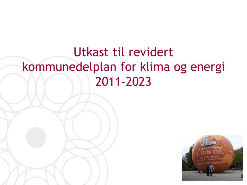 Utkast til revidert kommunedelplan for klima og energi 2011-2023