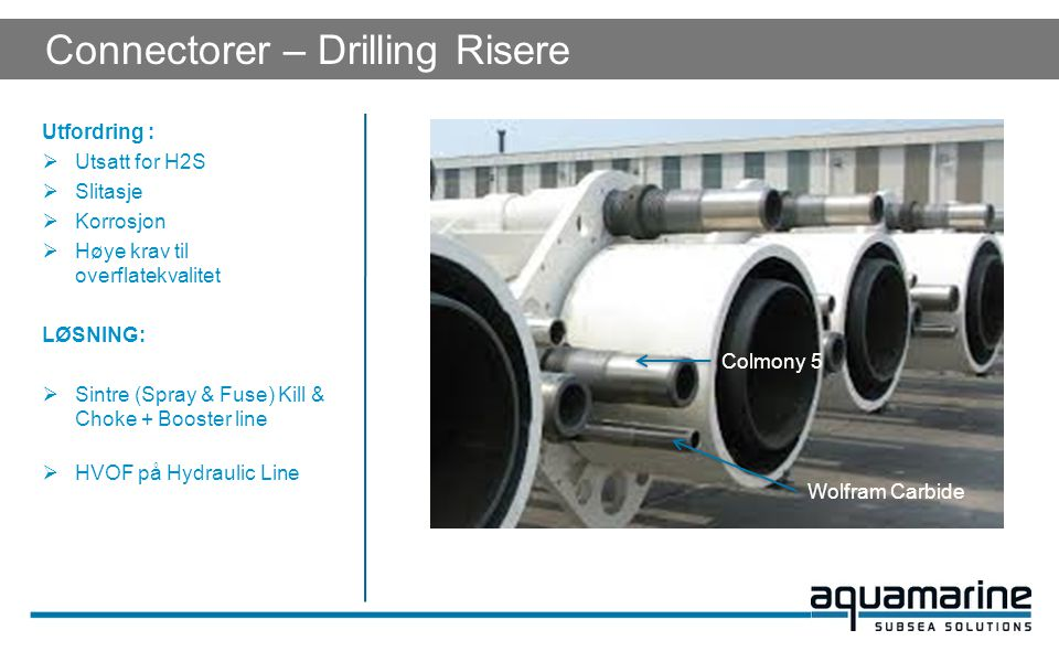 Connectorer – Drilling Risere