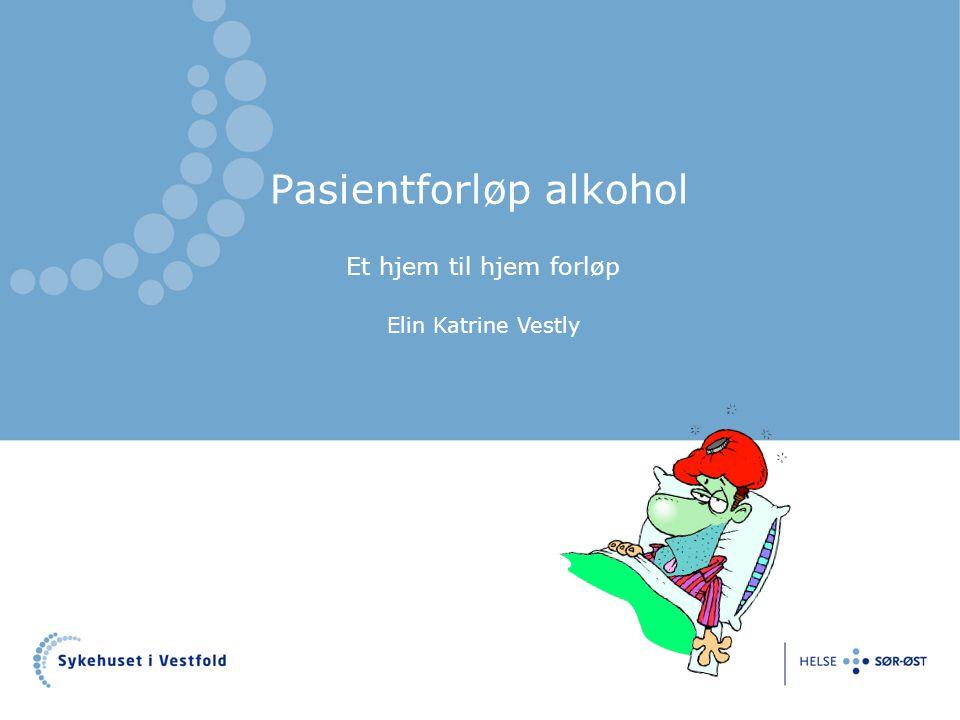 Pasientforløp alkohol
