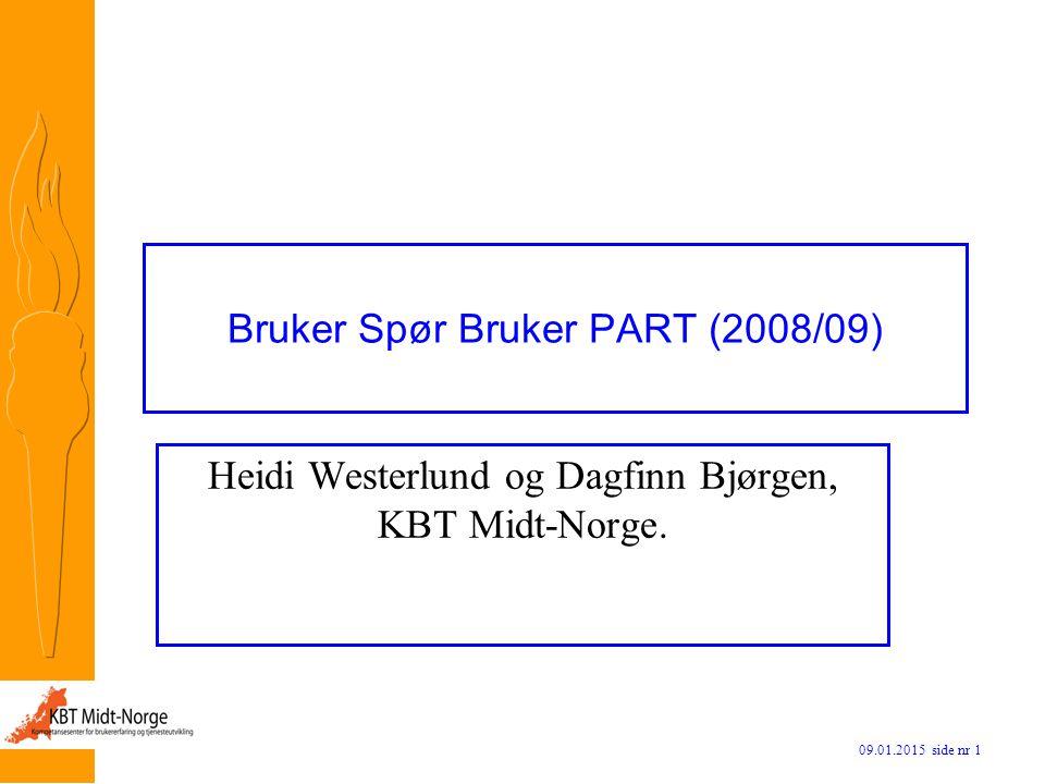 Bruker Spør Bruker PART (2008/09)