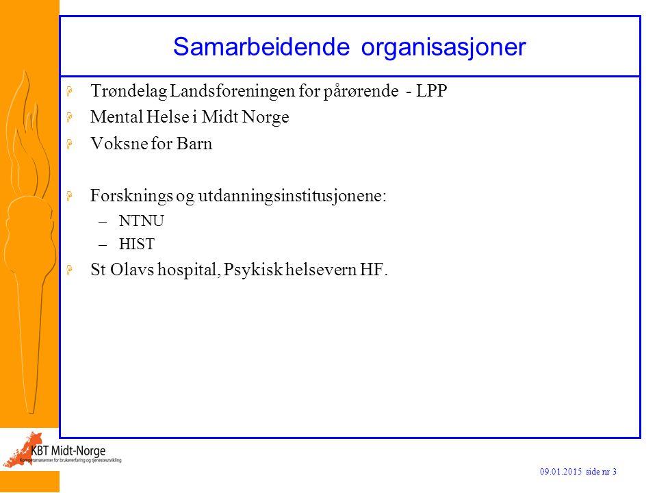 Samarbeidende organisasjoner