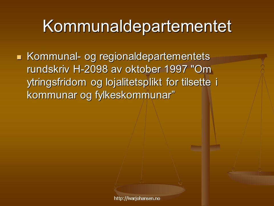 Kommunaldepartementet