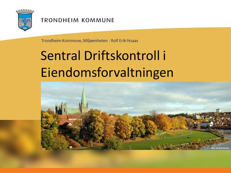 Sentral Driftskontroll i Eiendomsforvaltningen
