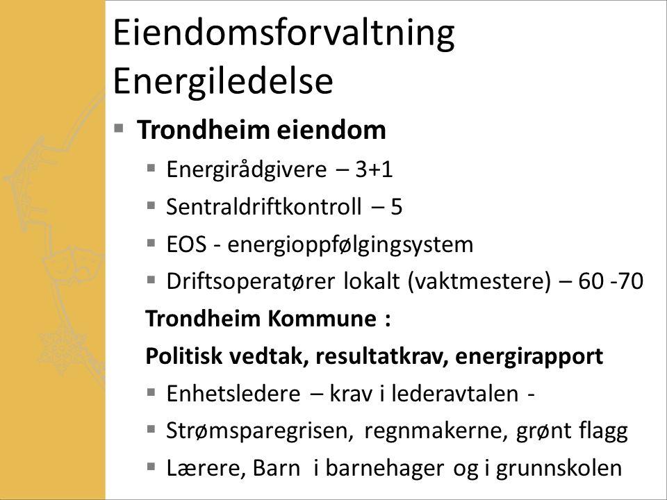 Eiendomsforvaltning Energiledelse