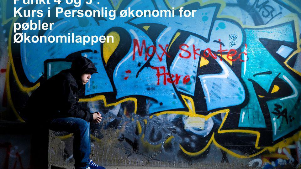 Punkt 4 og 5 : Kurs i Personlig økonomi for pøbler Økonomilappen