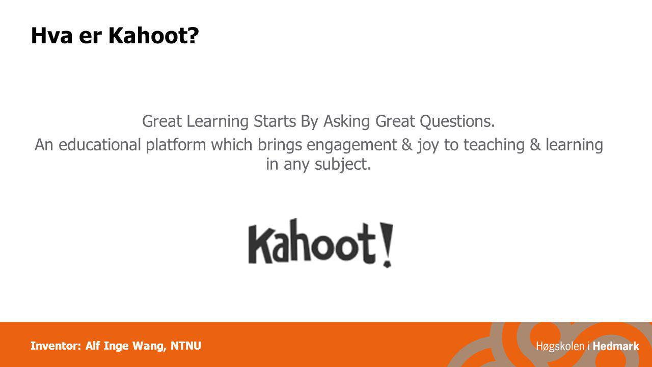 Hva er Kahoot