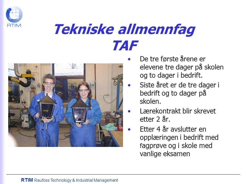 Tekniske allmennfag TAF