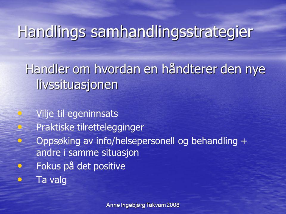 Handlings samhandlingsstrategier