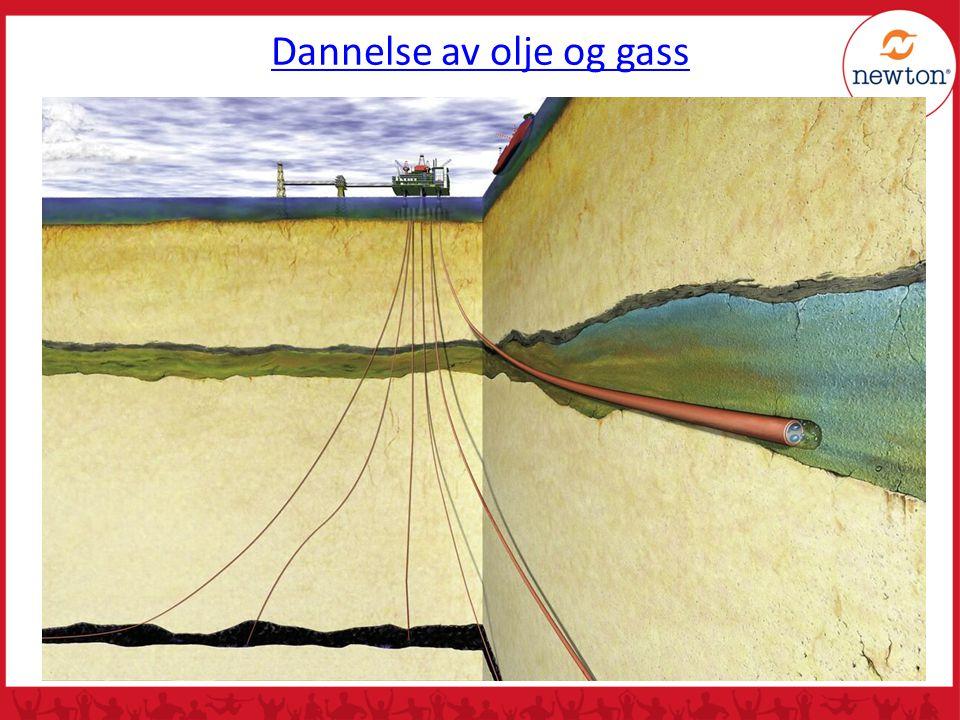 Dannelse av olje og gass