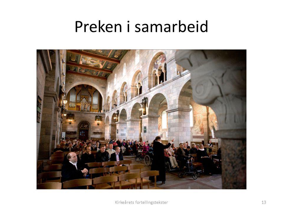 Kirkeårets fortellingstekster