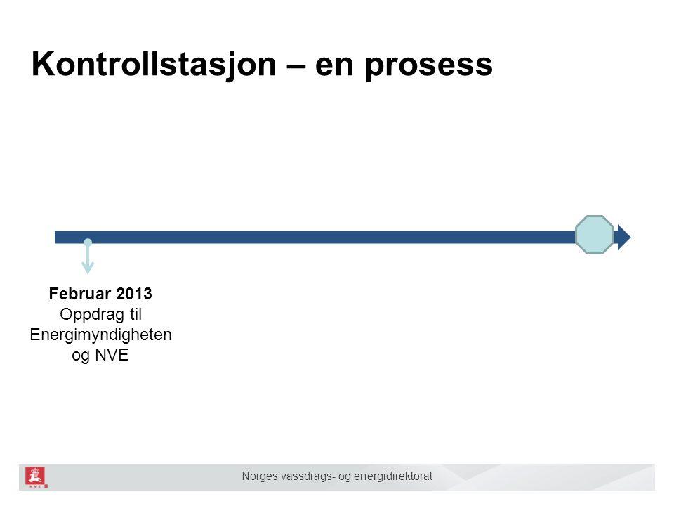 Kontrollstasjon – en prosess