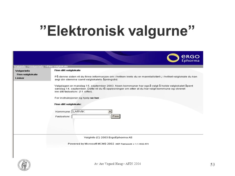 Elektronisk valgurne