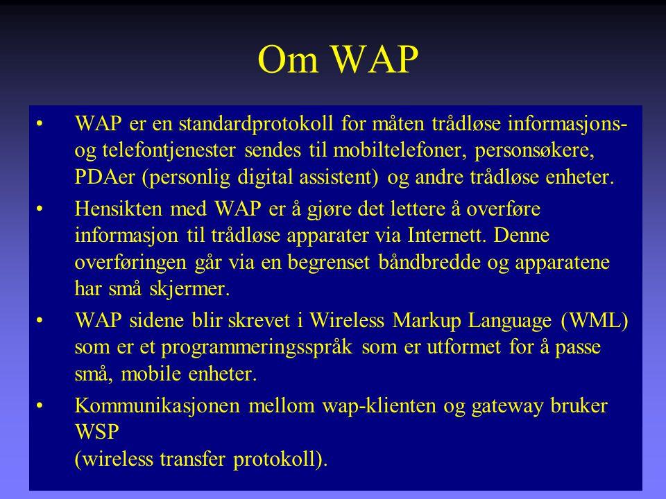 Om WAP