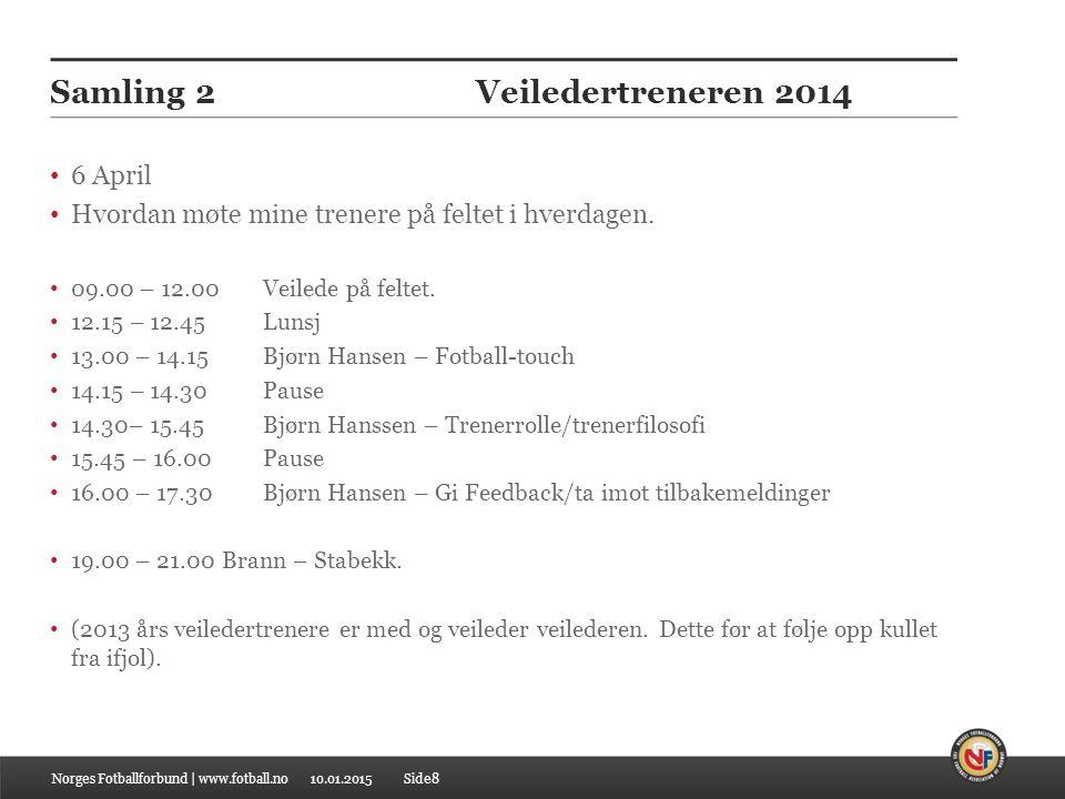 Samling 2 Veiledertreneren 2014