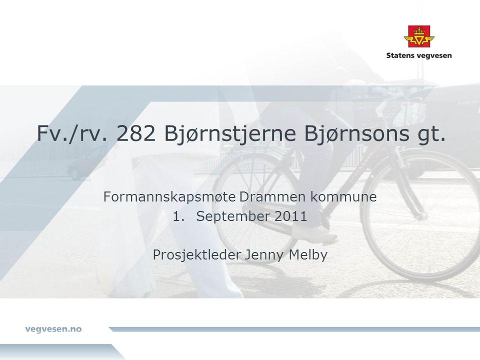 Fv./rv. 282 Bjørnstjerne Bjørnsons gt.