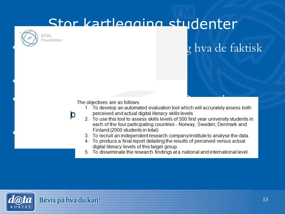Stor kartlegging studenter