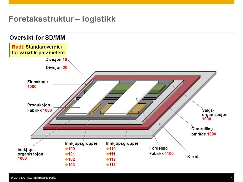 Foretaksstruktur – logistikk