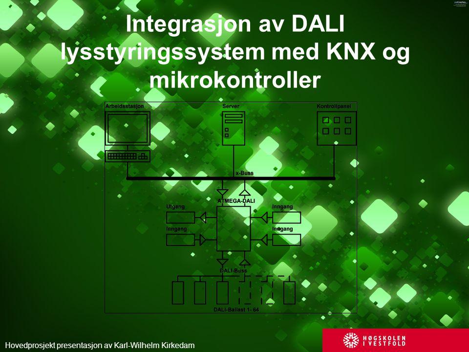 Integrasjon av DALI lysstyringssystem med KNX og mikrokontroller