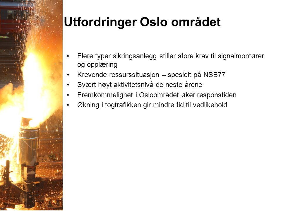 Utfordringer Oslo området