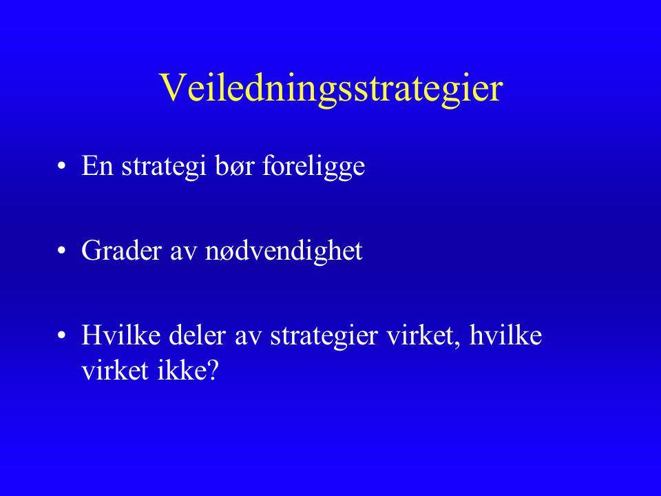 Veiledningsstrategier