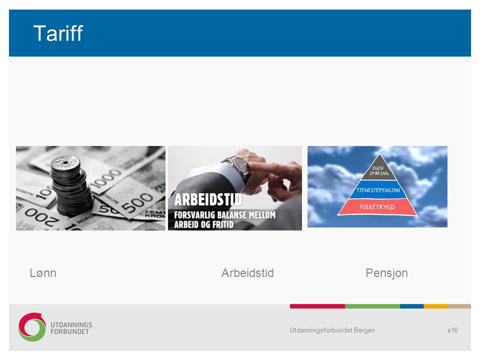 Tariff Lønn Arbeidstid Pensjon Utdanningsforbundet Bergen