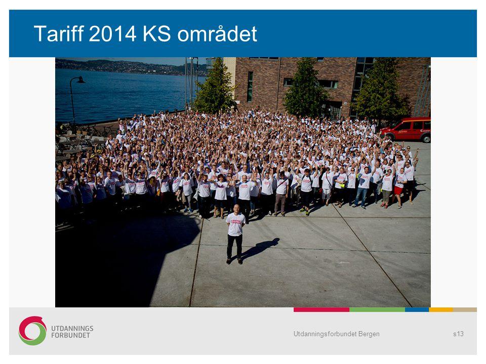 Tariff 2014 KS området Utdanningsforbundet Bergen