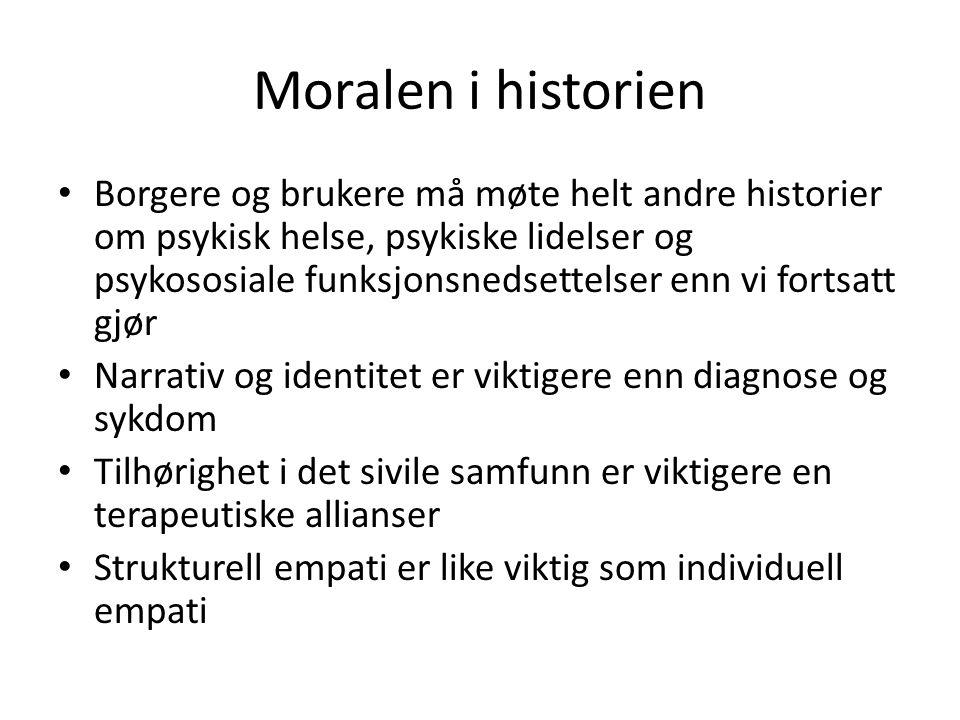 Moralen i historien