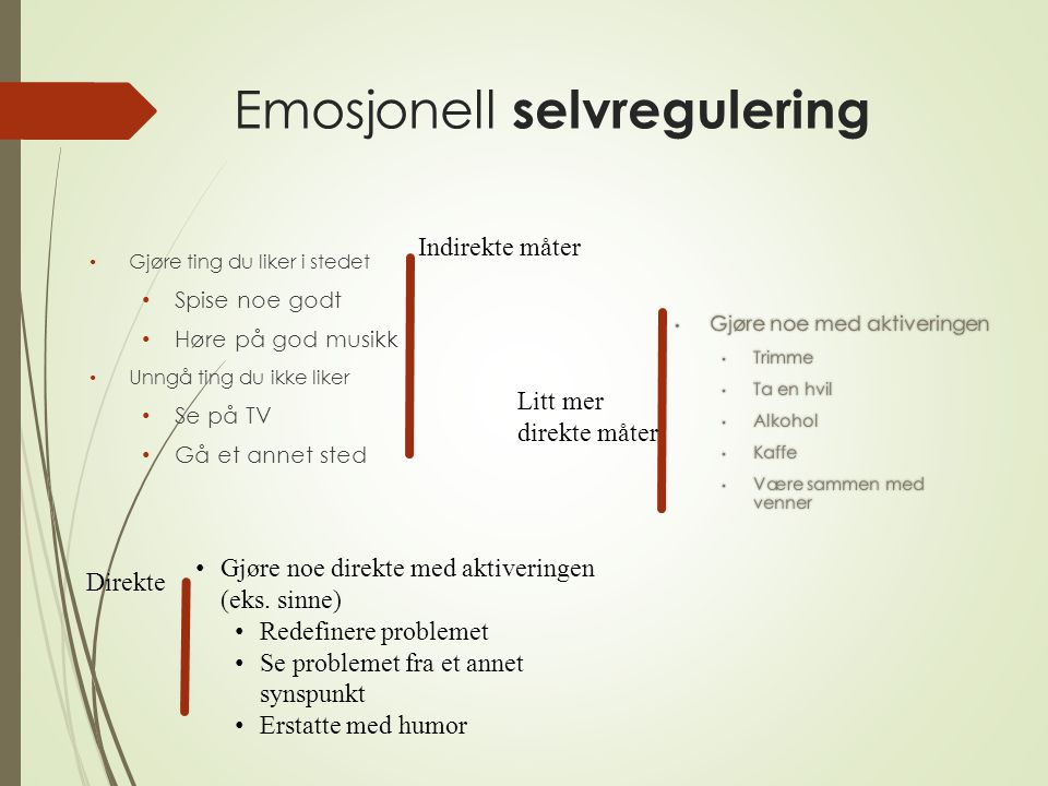 Emosjonell selvregulering