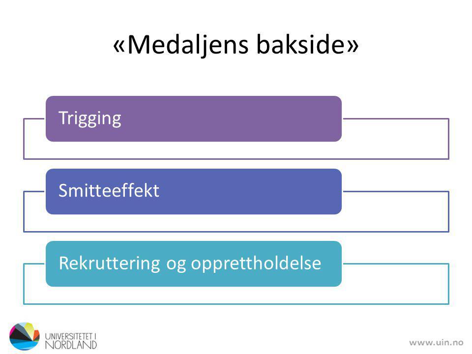 «Medaljens bakside» Trigging Smitteeffekt