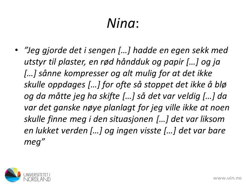 Nina:
