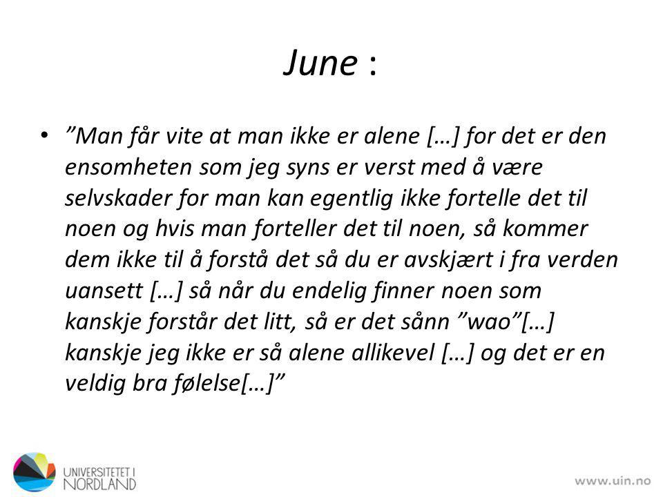 June :